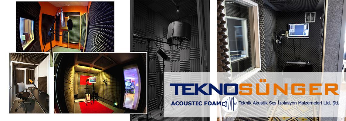 Akustik Sünger Uygulaması Bursa Ses Yalıtımı