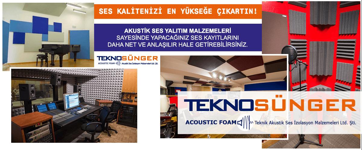 Akustik Ses Yalıtımı Fiyatları İstanbul Tekno Sünger