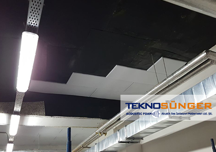 Ceiling Isolation Epdm Barrier