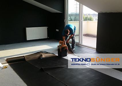 Floor Sound Insulation Heavy Barrier