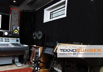 Stüdyo Odası Ses Yalıtımı Yumurta Sünger