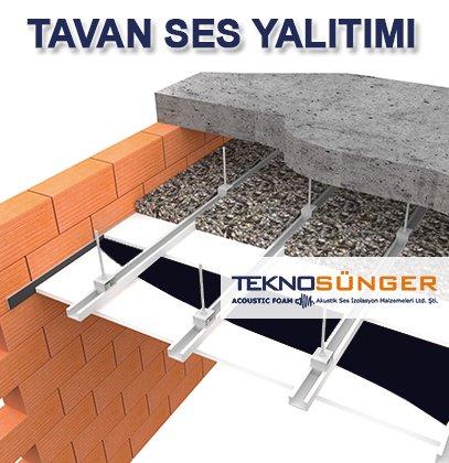 Tavan Katlar Arası Ses Yalıtımı İstanbul