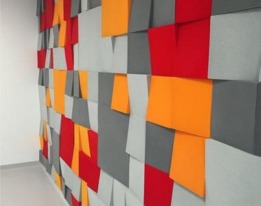 Akustik Kumaş Kaplı Duvar Paneli