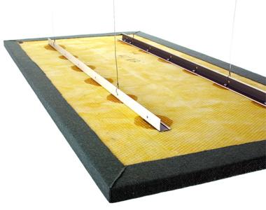 Yüzer Tavan Paneli Ses Yalıtımı